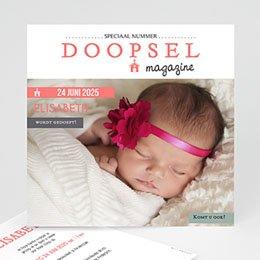 Aankondiging Doopviering Façon Magazine