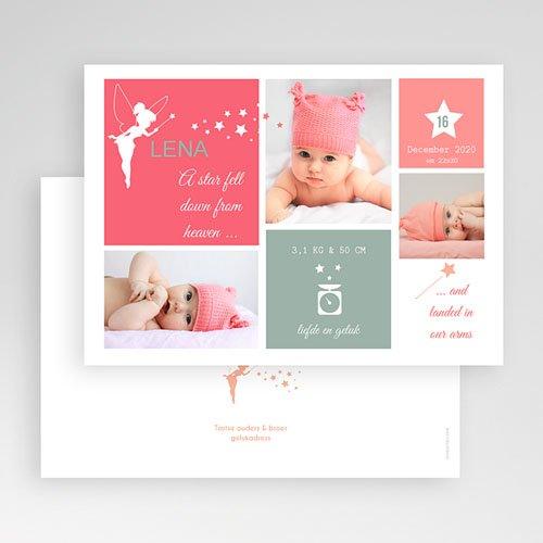 Geboortekaartje meisje - Feetje 57273 thumb
