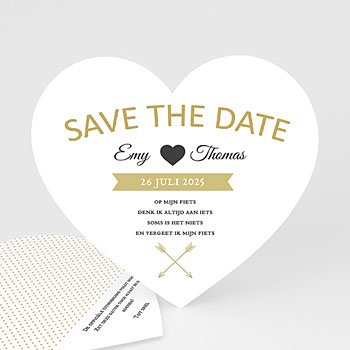 Save the date kaartjes - Marque Coeur - 0