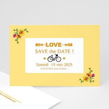 Save the date kaartjes - Style Printanier - 0