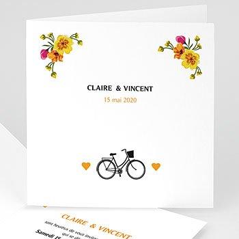 Personaliseerbare trouwkaarten - Style Printanier - 0