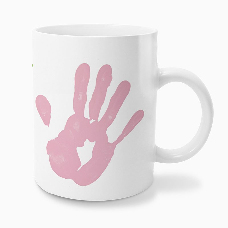 Personaliseerbare mokken - Handafdruk 57310 thumb
