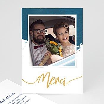 Originele bedankkaarten huwelijk - The Blue Gold - 0