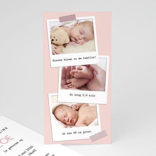 Geboortekaartje meisje - Pola 57370 thumb