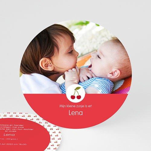 Geboortekaartje meisje - Cerise 57372 thumb