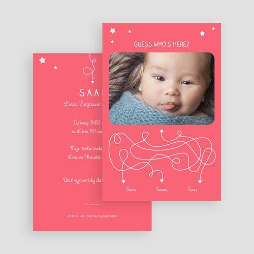 Geboortekaartje meisje - Devinette 57399 thumb