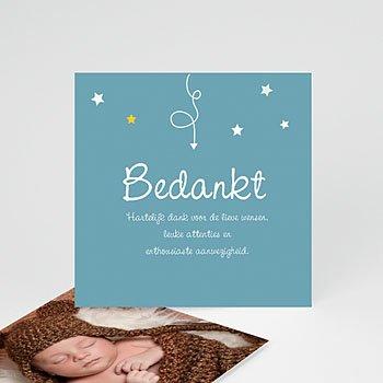 Bedankkaartje geboorte zoon - Devinette - 0