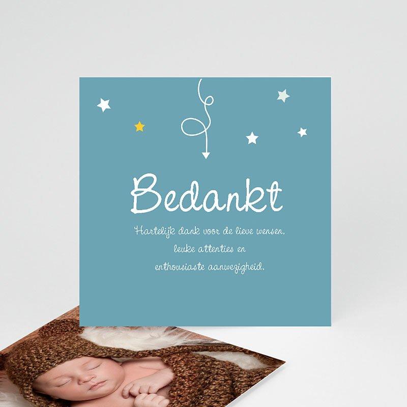 Bedankkaartje geboorte zoon - Devinette 57400 thumb