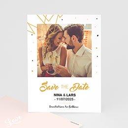 Save the date Huwelijk Ja, ik wil