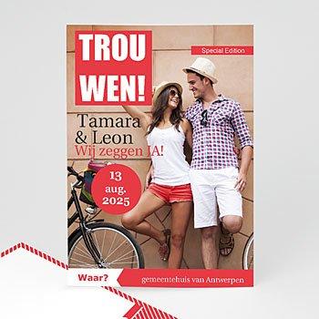 Trouwkaarten - TV Mariage - 0