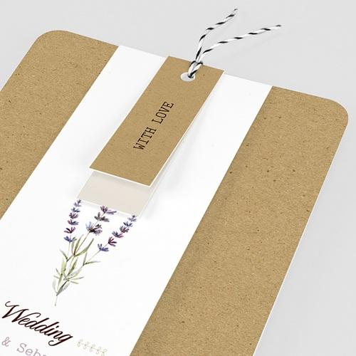 Landelijke trouwkaarten - Lavendel 57715 thumb
