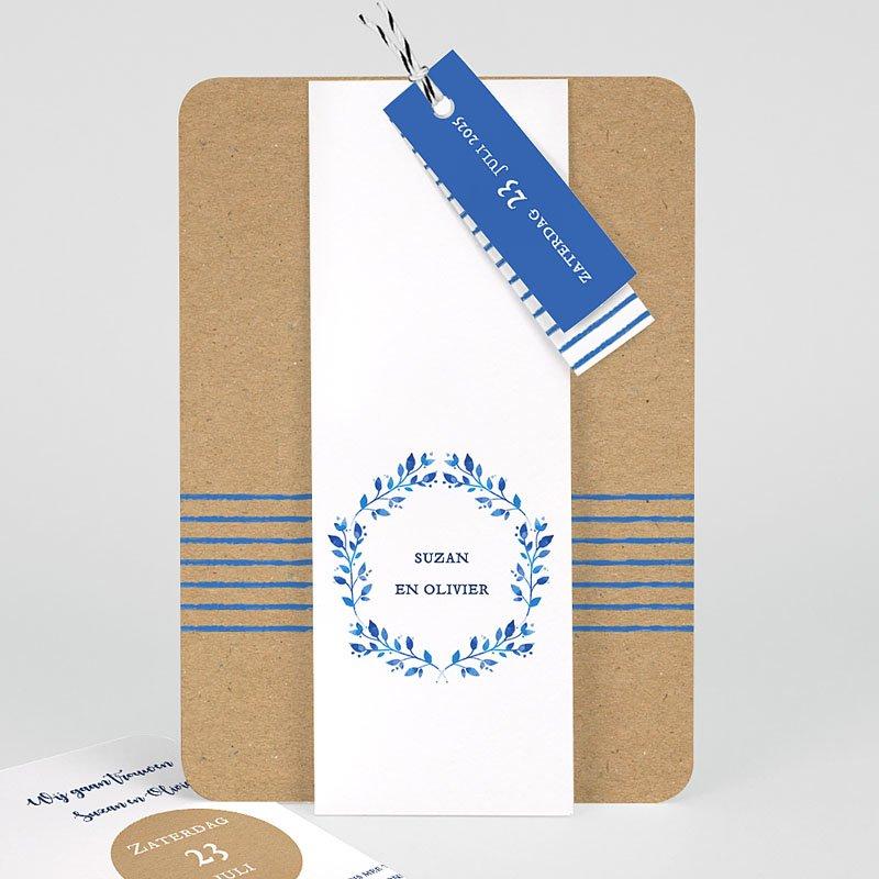 Landelijke trouwkaarten - Mediterrane stijl 57786 thumb