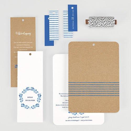 Landelijke trouwkaarten - Mediterrane stijl 57788 thumb