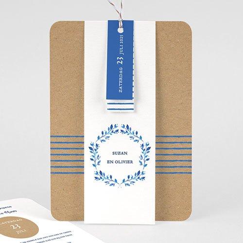 Landelijke trouwkaarten - Mediterrane stijl 57789 thumb
