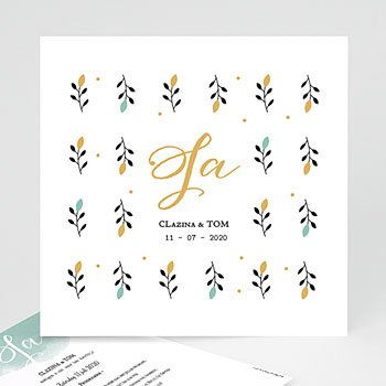 Klassieke trouwkaarten - Harmonie - 0