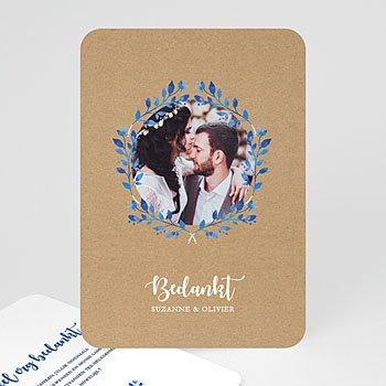 Bedankkaarten huwelijk - Mediterrane stijl - 0
