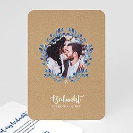 Bedankkaarten huwelijk Mediterrane stijl
