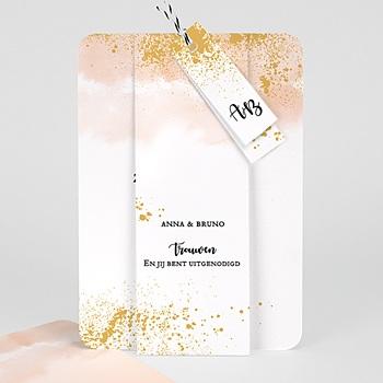 Creatieve trouwkaarten - Aquarello - 0
