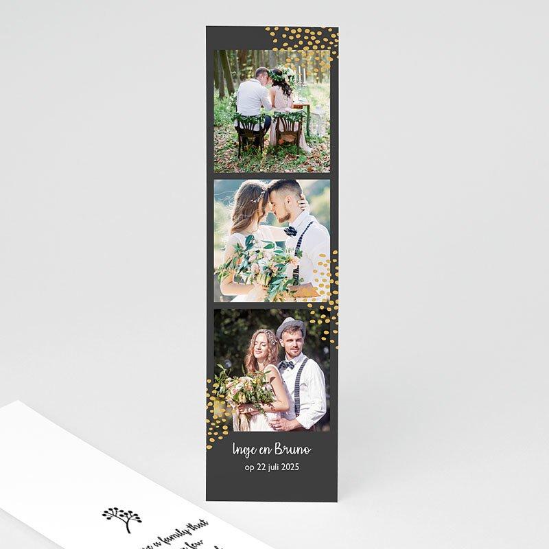 Chique bedankkaartjes huwelijk - Fall Harvest 58340 thumb