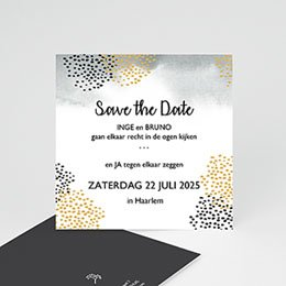 Save the date kaartjes Fall Harvest