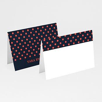 Tafelkaartjes huwelijk - French Flair - 0