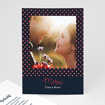 Originele bedankkaarten huwelijk - French Flair - 0