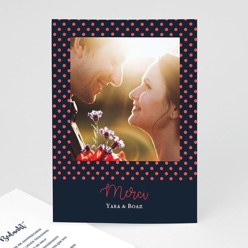 Originele bedankkaarten huwelijk - French Flair 58527 thumb