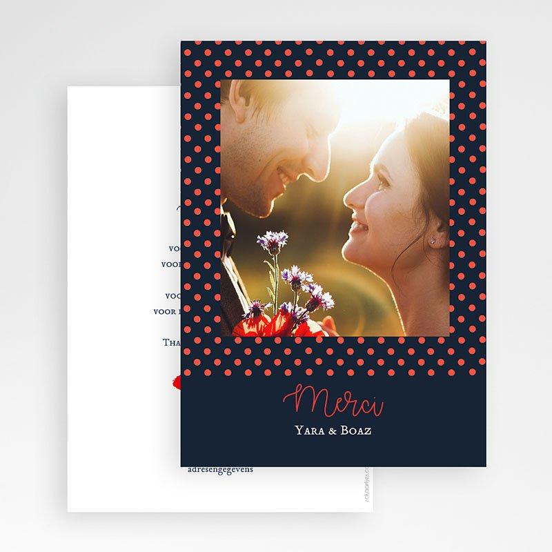 Originele bedankkaarten huwelijk - French Flair 58529 thumb