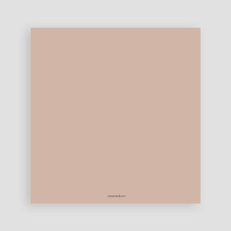 Bedankkaarten huwelijk met foto - Gekleurd hout 58688 thumb