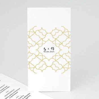 Menukaarten huwelijk - Alhambra - 0