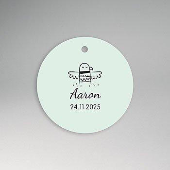 Etiket geboorte - Little Indian - 0