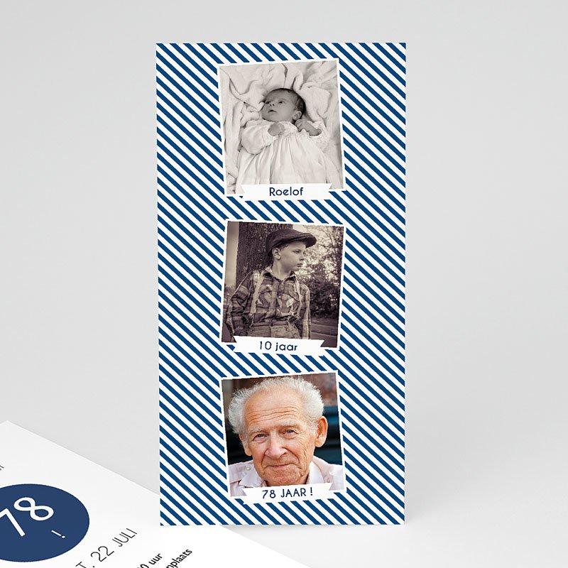 70 Jaar Oud Uitnodigingen Verjaardag Vijfenzeventig