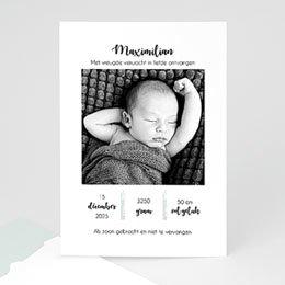 Geboortekaartje jongen Too Cute