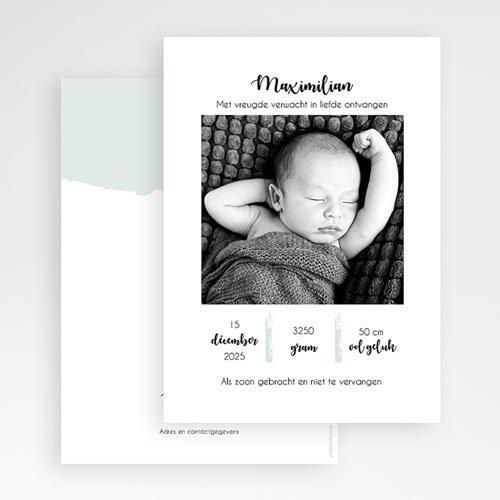 Geboortekaartjes Jongen Too Cute gratuit