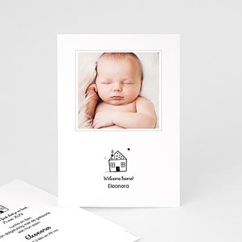 Geboortekaartje meisje - Sweet Home - 0