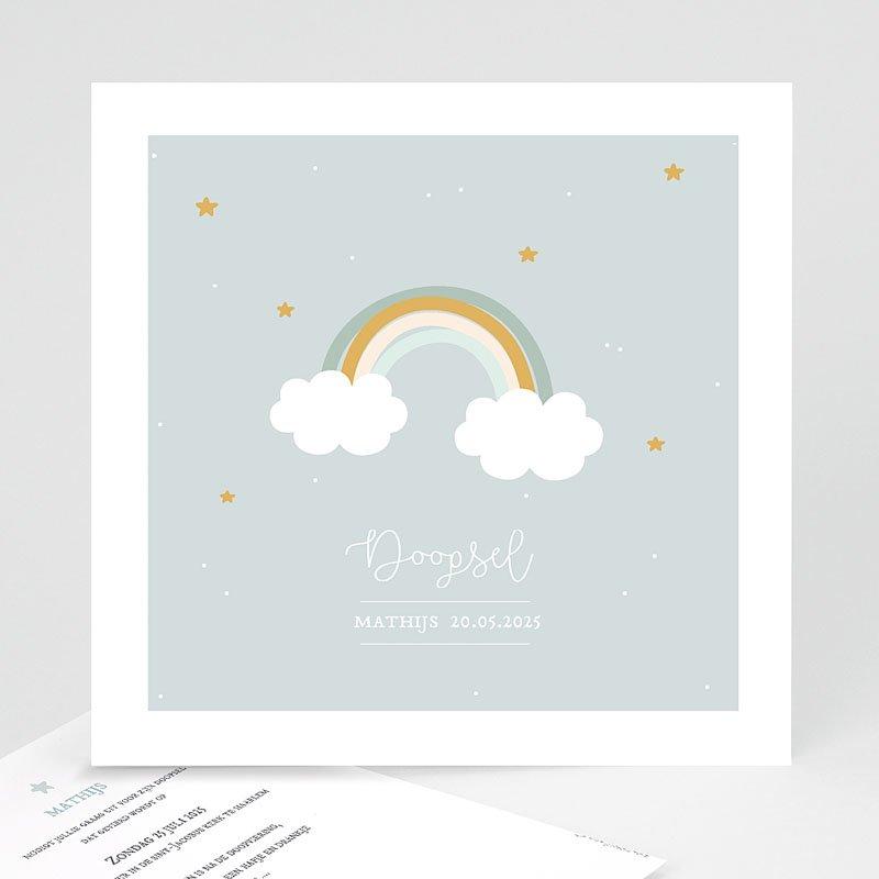 Doopkaartje jongen - Rainbow 59254 thumb