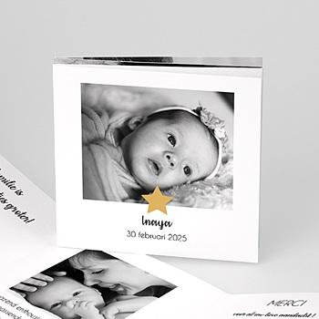 Geboortekaartje meisje - Twinkle Star - 0