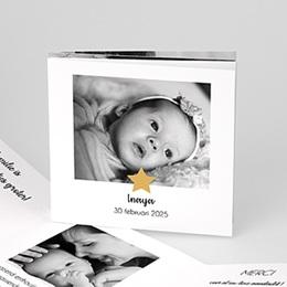 Aankondiging Geboorte Twinkle Star