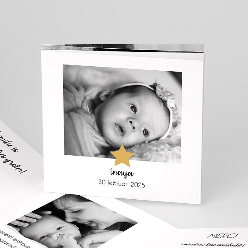 Geboortekaartje meisje - Twinkle Star 59283 thumb