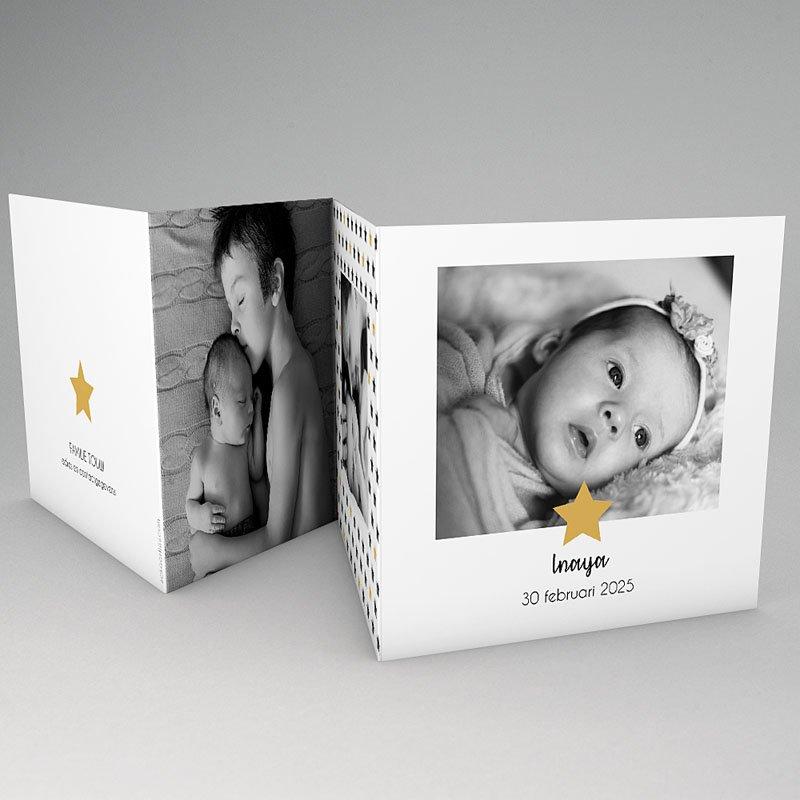 Geboortekaartje meisje - Twinkle Star 59286 thumb