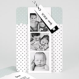 Aankondiging Geboorte Pepermunt