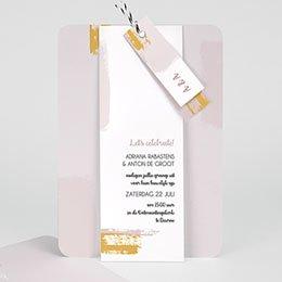 Creatieve trouwkaarten Rozenkwarts