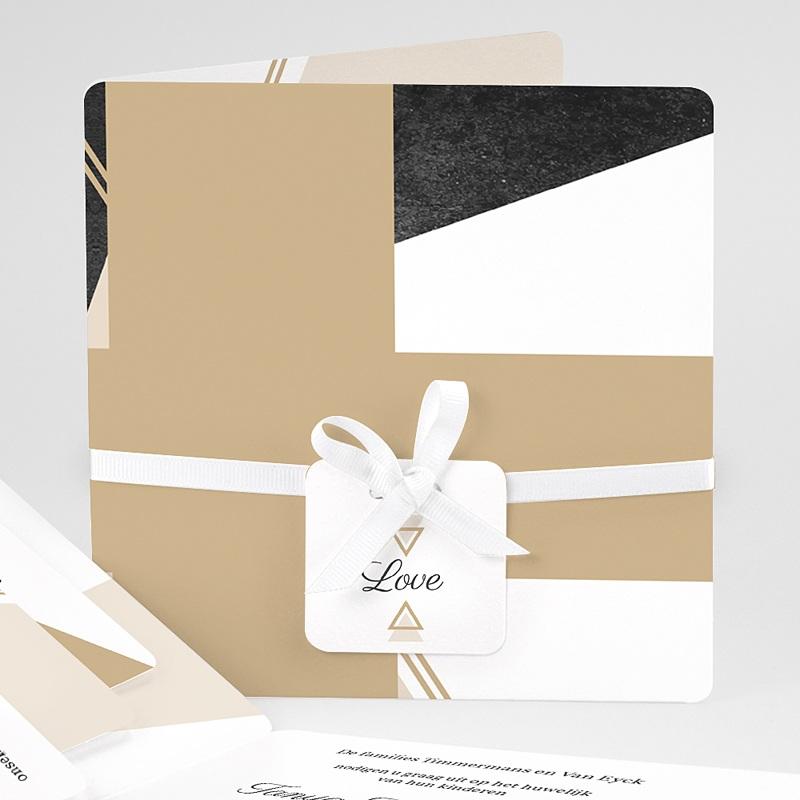 Chique trouwkaarten - Mineraal 59444 thumb