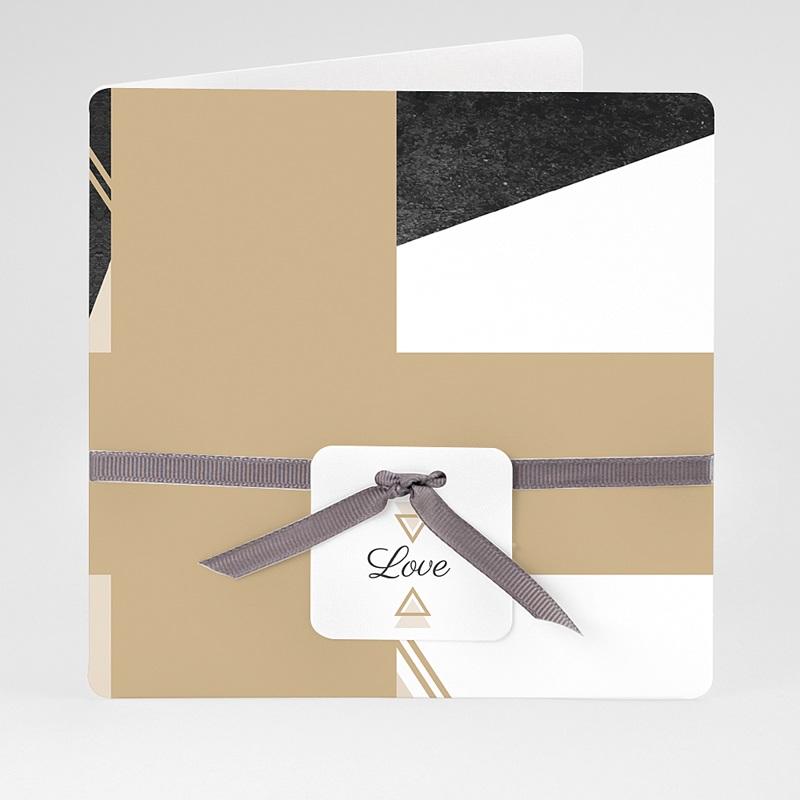 Chique trouwkaarten - Mineraal 59447 thumb