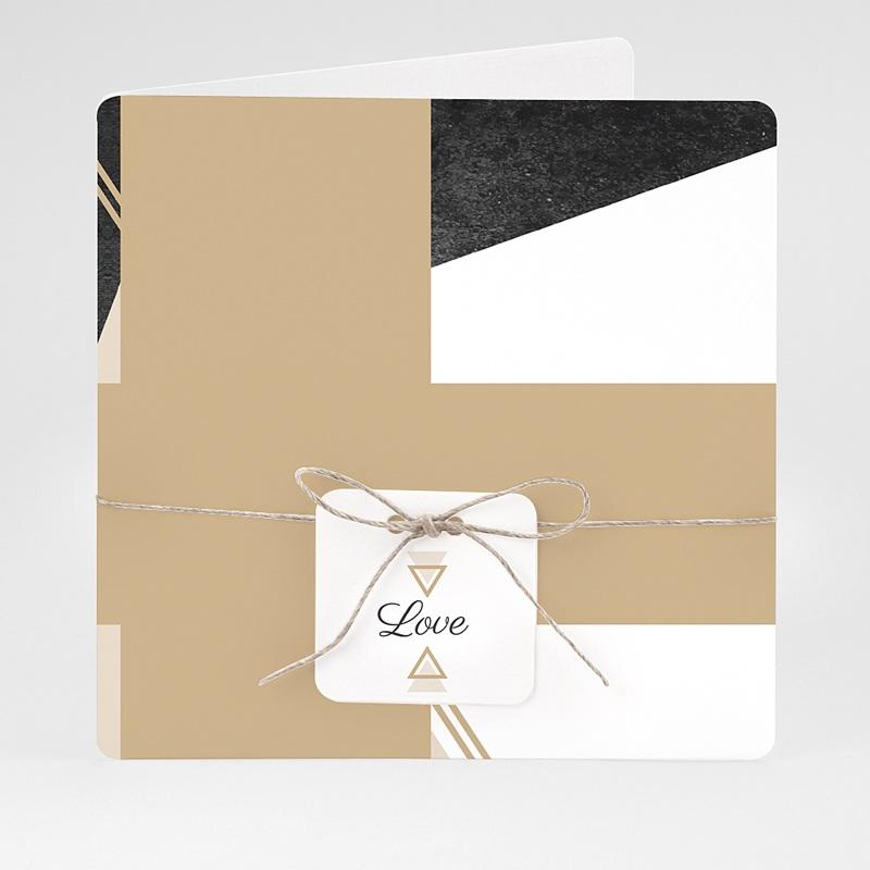 Chique trouwkaarten - Mineraal 59448 thumb