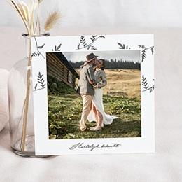 Bedankkaartjes Huwelijk Kraft en takjes