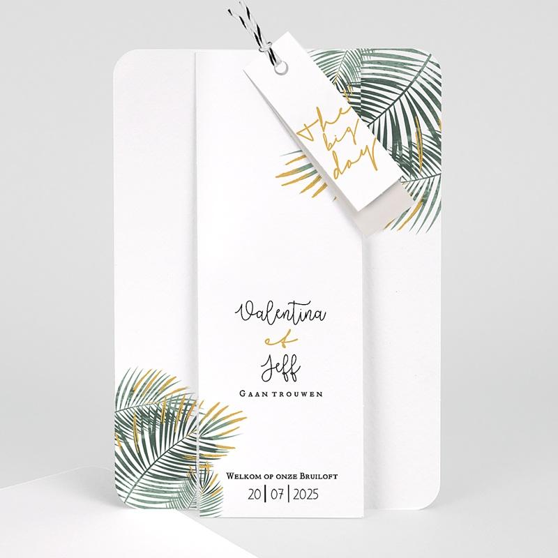 Creatieve trouwkaarten - Palm Springs 59653 thumb
