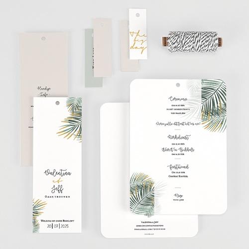 Creatieve trouwkaarten - Palm Springs 59655 thumb