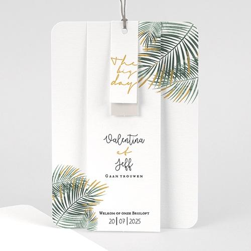 Creatieve trouwkaarten - Palm Springs 59658 thumb