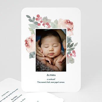Geboortekaartje meisje - Althea - 0